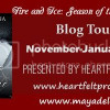 Author Spotlight: Fire and Ice, Season of the Vampire 1 by Maya DeLeina