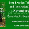 Author Spotlight: Deep Breaths, Tales of Hope and Inspiration by Tara Fox Hall